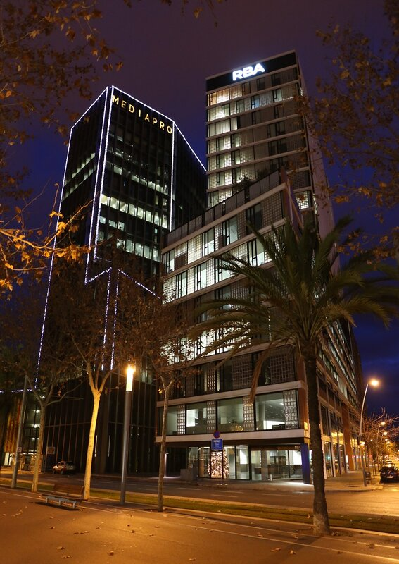 технопарк Барселона-Медиа. Parc  Media.