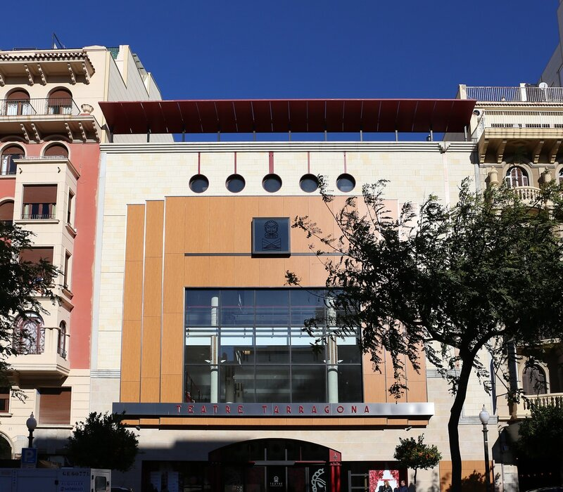 Tarragona. The Rambla Nova. Theater