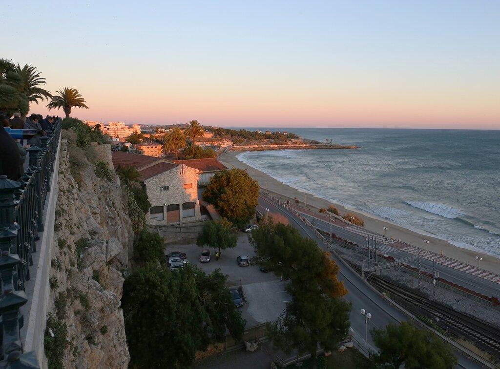 Таррагона на закате. Средиземноморский балкон.