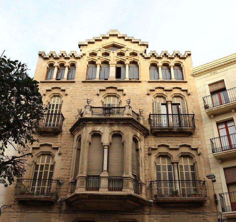 Реус. Маршрут модерна. Каса Серра. Casa Serra