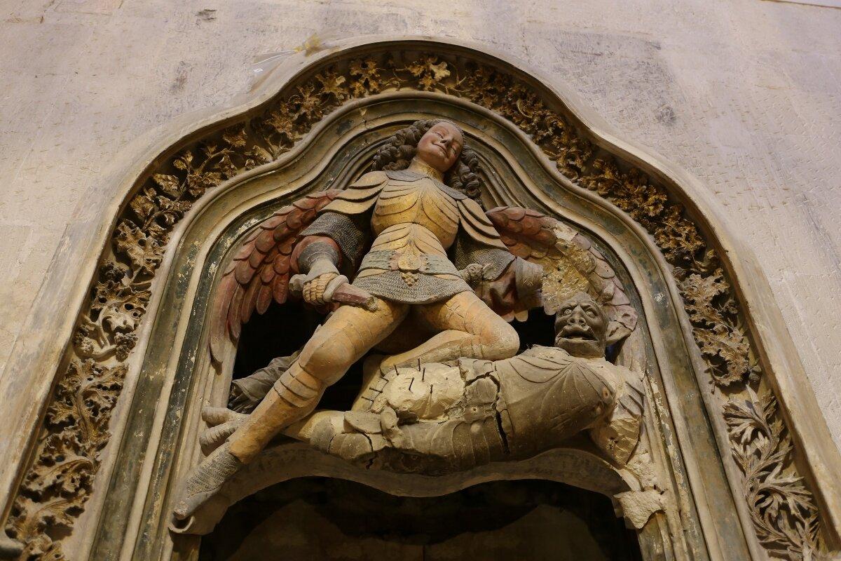 Tarragona Cathedral. Altar.