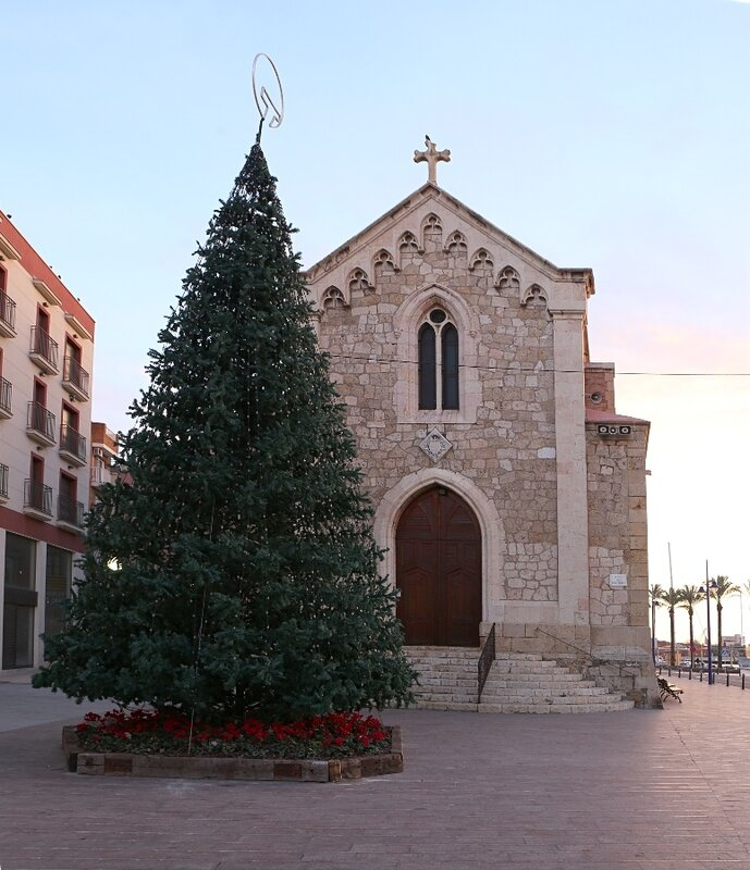 Tarragona. The Church Of St. Peter The Apostle (Esglèsia de Sant Pere Apostol)
