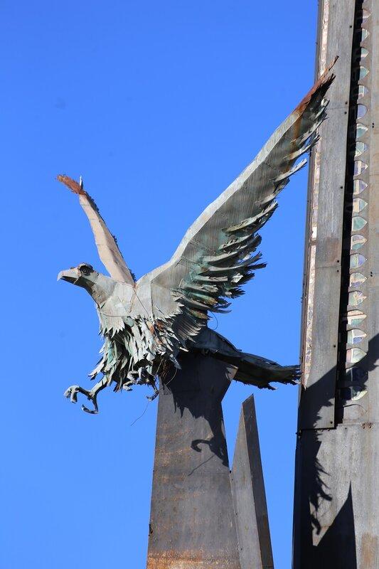 Tortosa. Памятник битве на Эбро. Monumento a la Batalla del Ebro. Tortosa