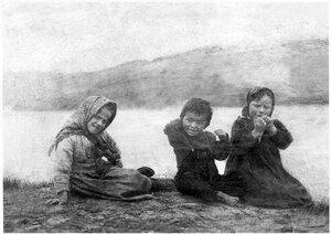 Белое море. Дети Терского берега. 1910-е гг.