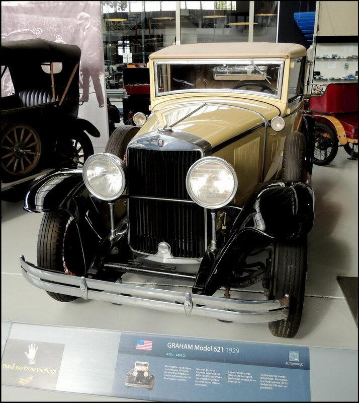 Autoworld 8095 Graham Model 621 1929