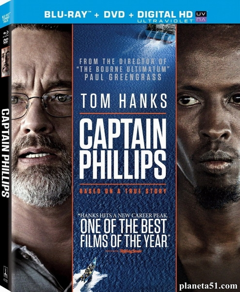 Капитан Филлипс / Captain Phillips (2013/BDRip/HDRip) [Лицензия]
