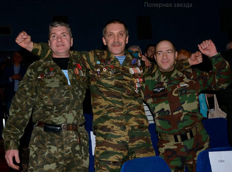 Гости Оленегорского фестиваля - ветераны афганской войны