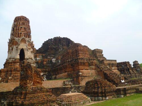 Таиланд, Аюттайя - Ват Пра Махатат (Thailand, Ayutthaya - Wat Phra Mahathat)