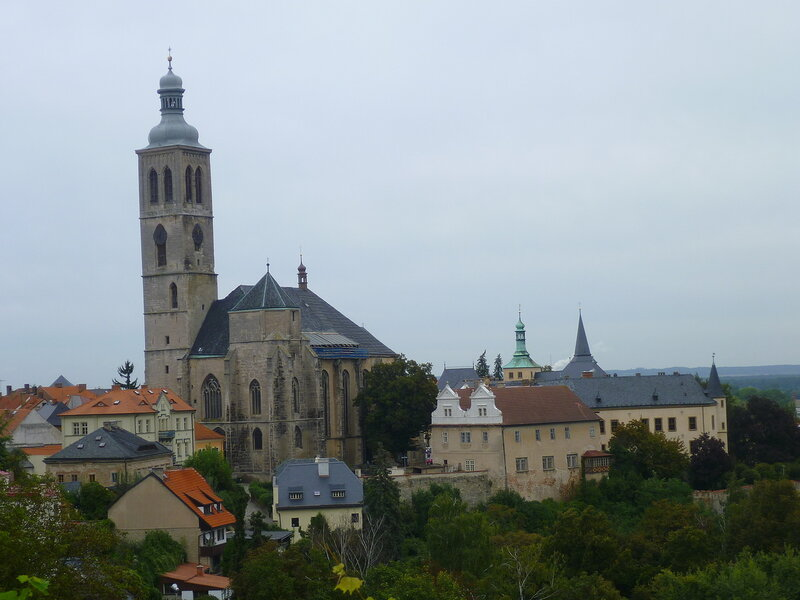 Чехия, Кутна Гора - собор (Czech Republic, Kutna Hora - Cathedral)