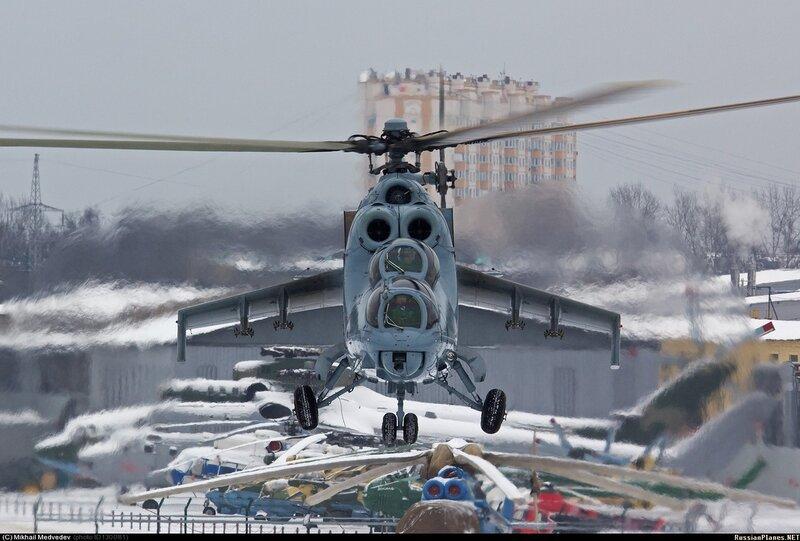 Ми-24К, 10 февраля 2014, МВЗ им. Миля