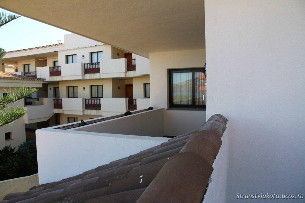 Балкон двухспального апартамента в H10 Costa Salinas, La Palma
