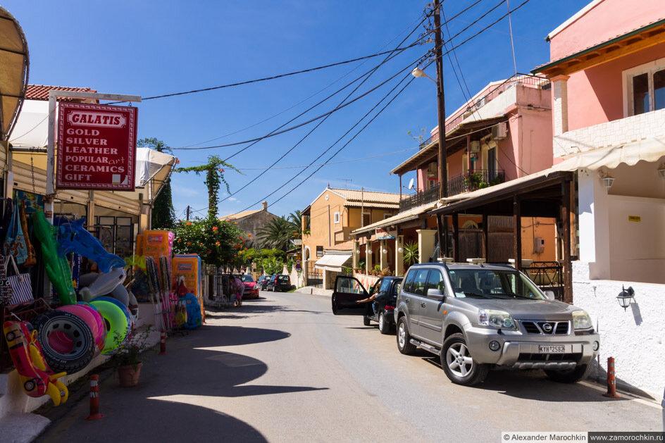 Агиос Гордиос - курорт на западном берегу Корфу