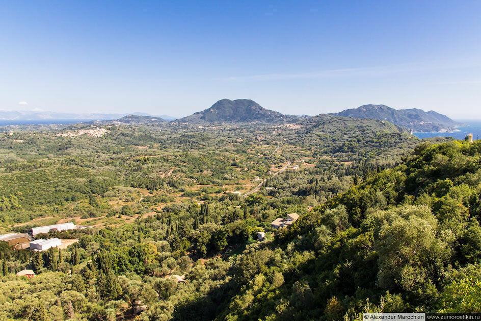 Вид с панорамной площадки Трон Кайзера