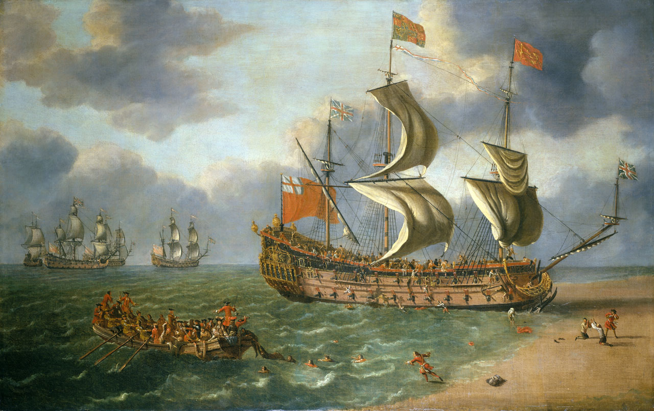 The Wreck of the 'Gloucester' off Yarmouth, 6 May 1682.jpg