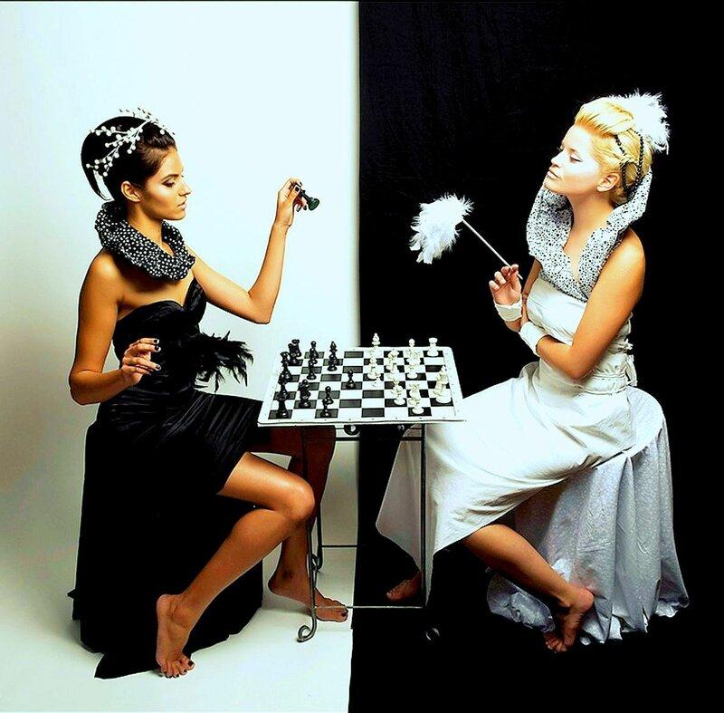 Шахматная тема, фото