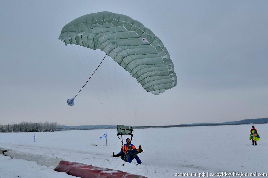 Как парашютисты совершают прыжки