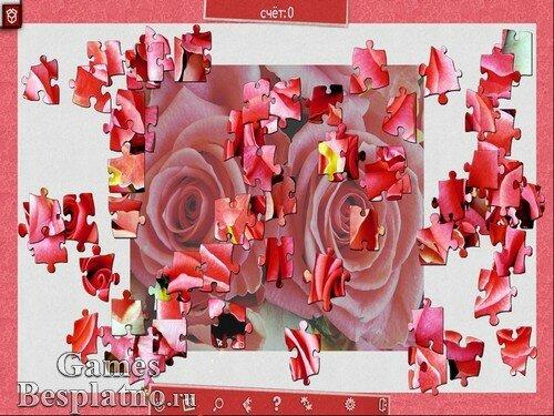 Праздничный пазл: День святого Валентина