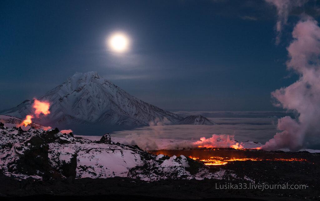 Толбачик,извержение