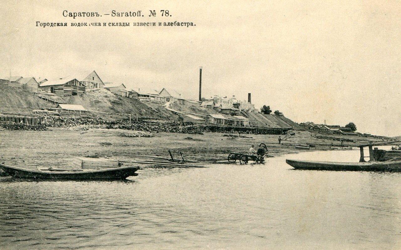 Городская водокачка и цементные заводы