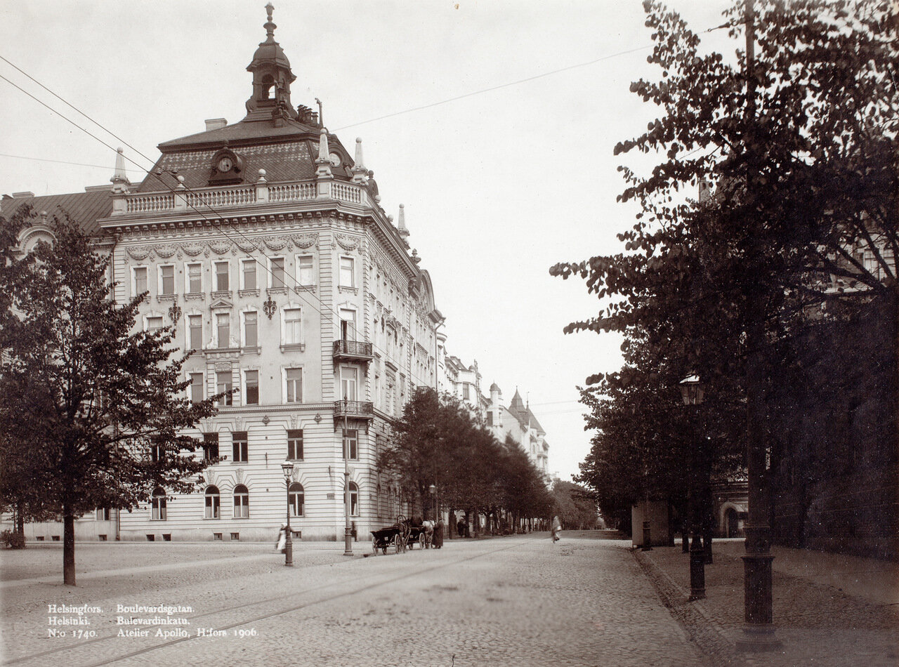 Булеварди, 1906