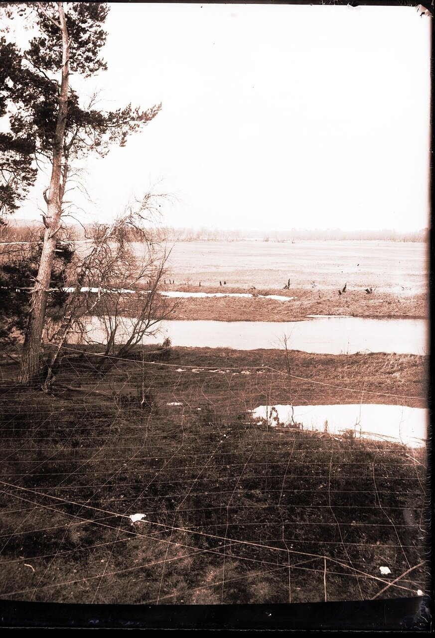 1913. Река Вах, топь ларьянского сора