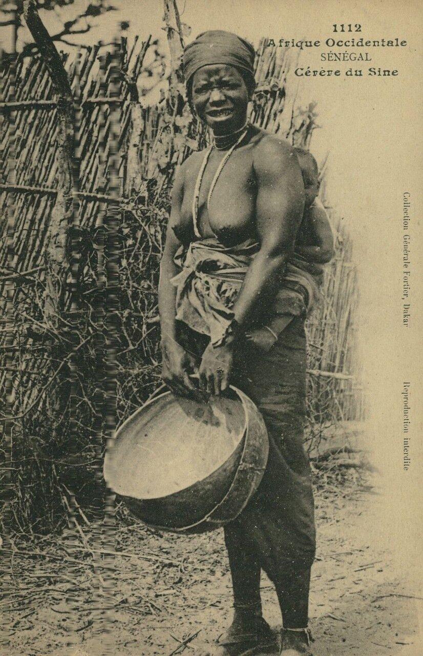 1920. Французская Экваториальная Африка.