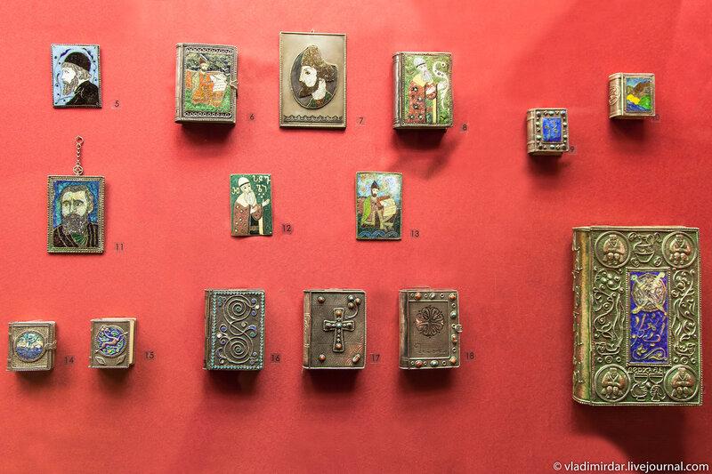 Панно, оклады, портреты. Манаба Магомедова. 1960-1977. Серебро, латунь, золото; чернь. Частное собрание.