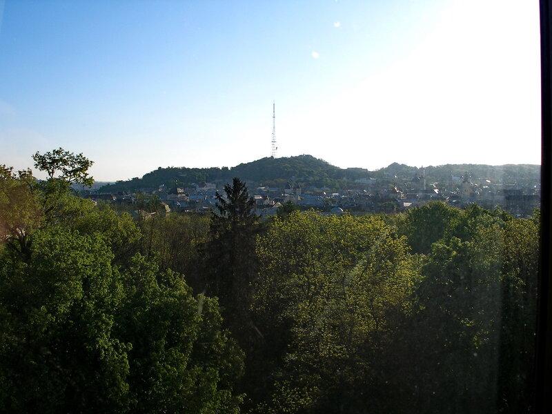 Львів вид из окна.