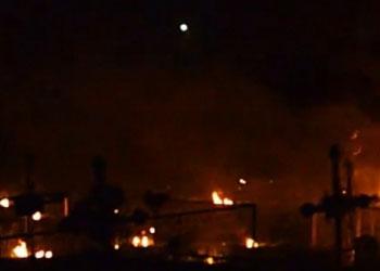 В Липканах еврейское кладбище объято огнем
