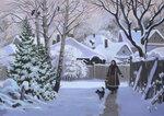 """""""Зима"""", х.м., 50х70, 100000 руб."""