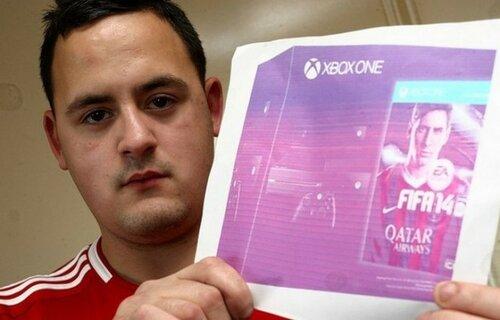 Английский студент купил на eBay ФОТОГРАФИЮ Xbox One за 700 долларов