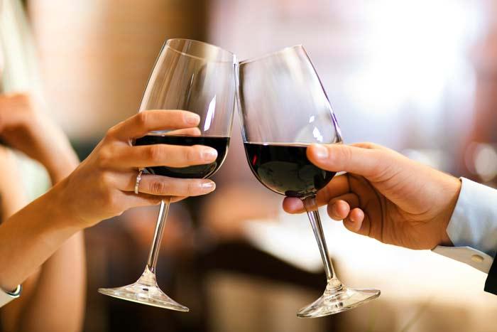 правила употребления вина