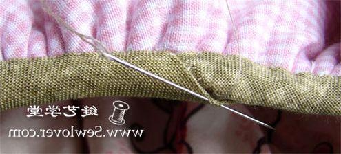 Косметичка из ткани