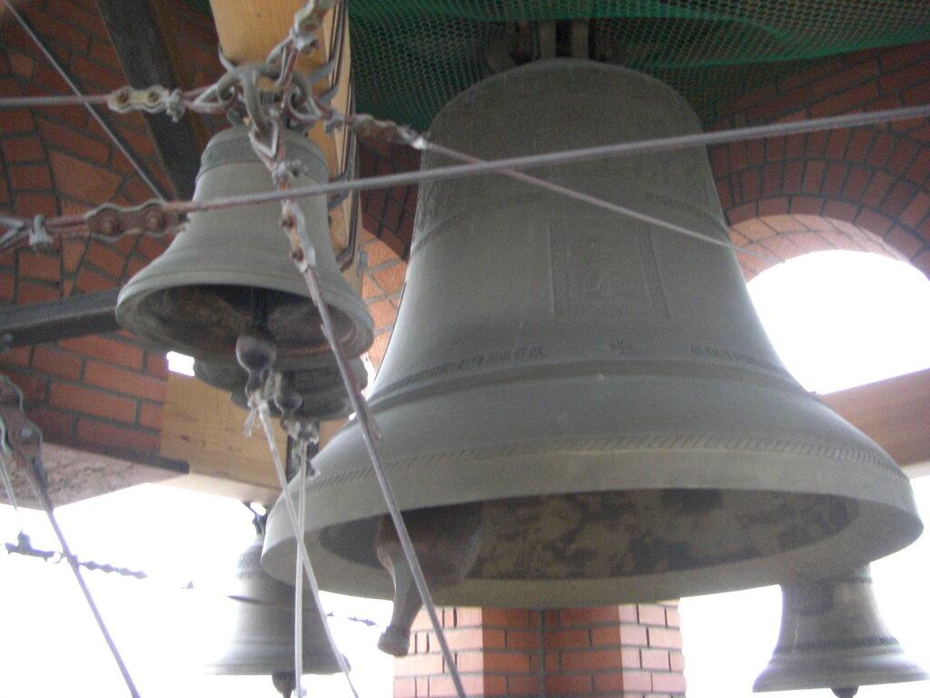 Сложная система поддержки колоколов (25.04.2014)