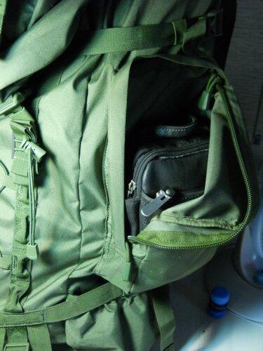 в рюкзаке