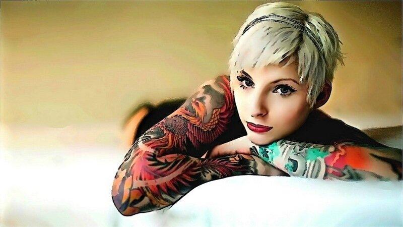 Кисти татуировки для Photoshop