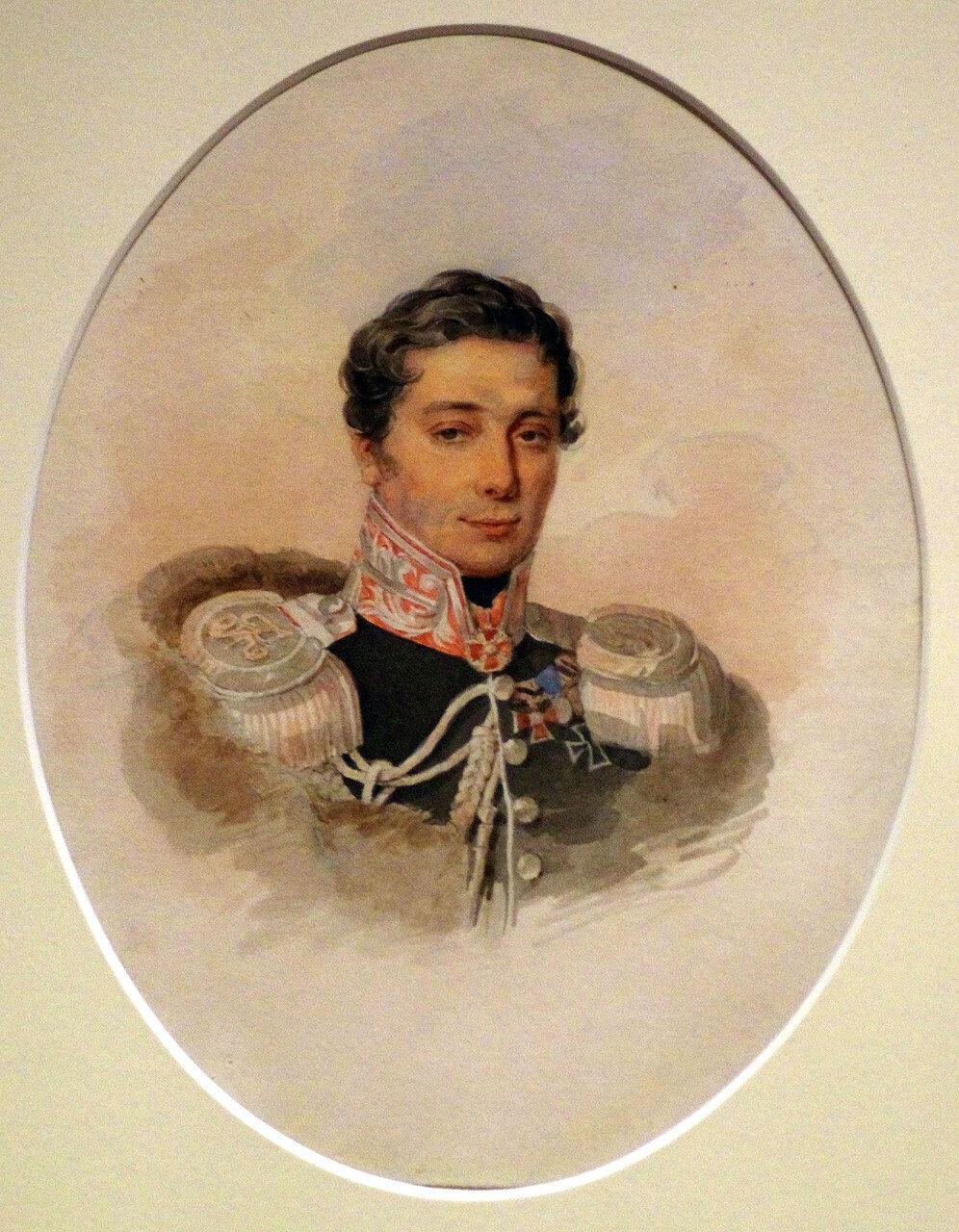 Петр Федорович Соколов. Портрет П.П. Ланского. 1827