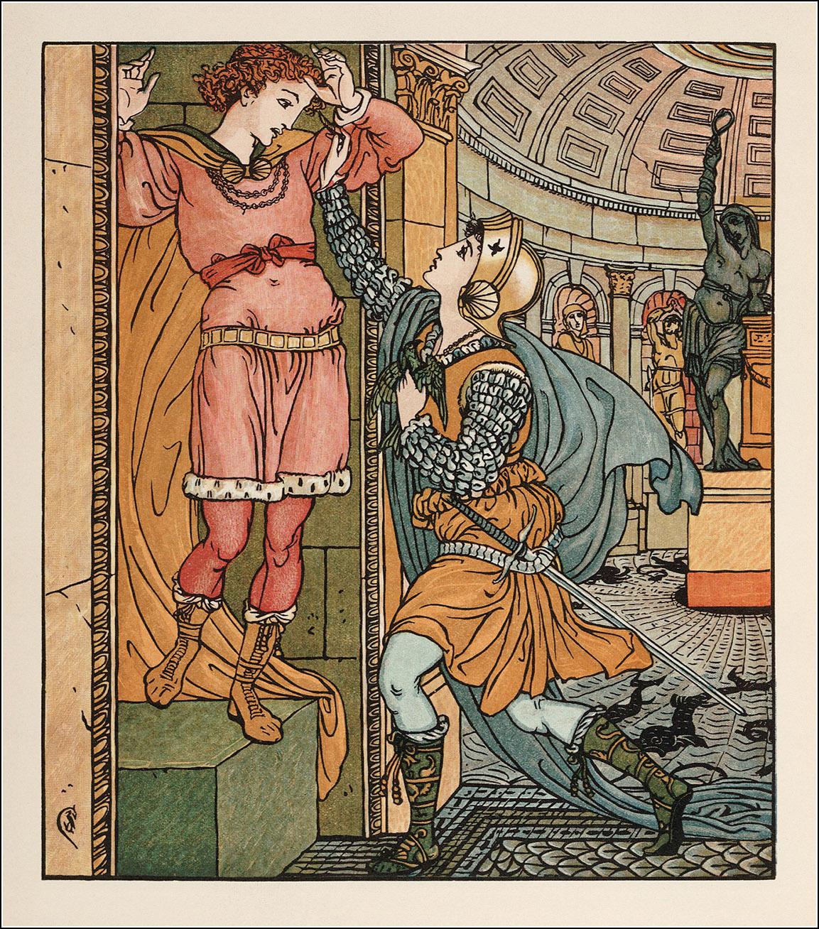 Princess Belle-Etoile by Walter Crane