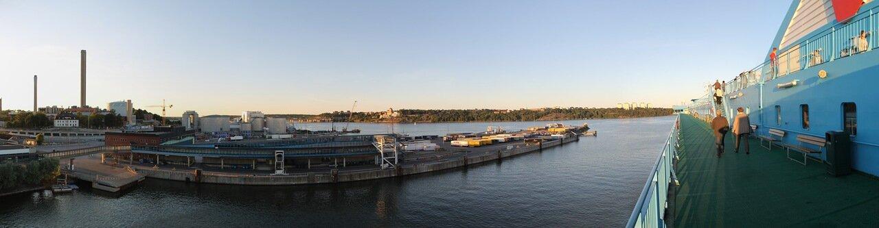 Стокгольм, паром Силья Гэлакси. Stockhoml, Silja Galaxy Ferry