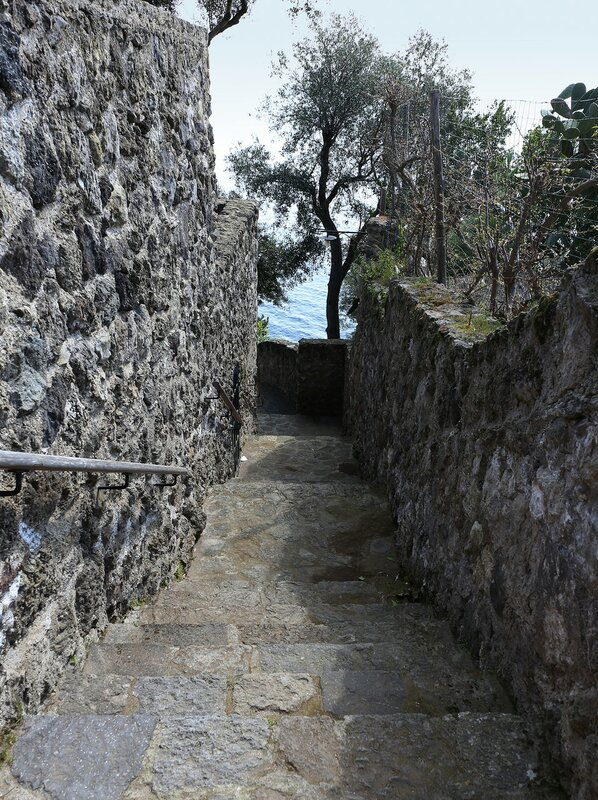 Ischia, the Aragonese castle.