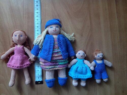 Мк вязание куклы елены ткачевой 81