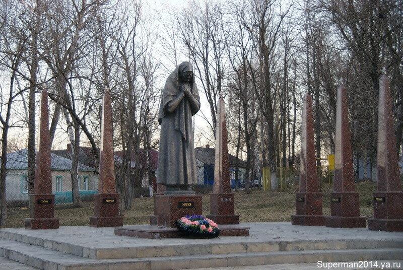 Задонск - памятник Матери