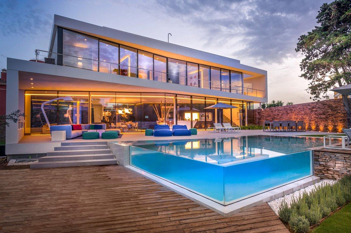 Cool Blue Villa, 123DV, вилла испания на море, виллы в испании на берегу моря фото, бассейн в частном доме фото, дом в испании на берегу моря фото