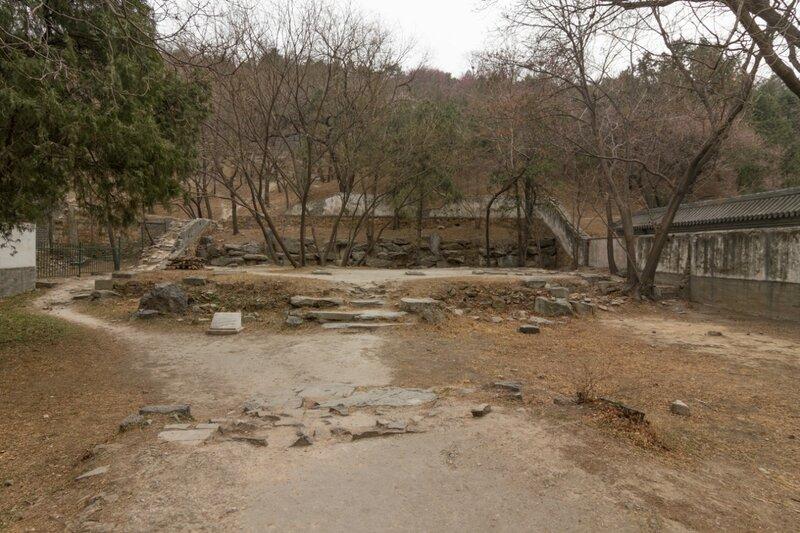 Руины, парк Ихэюань, Летний дворец, Пекин