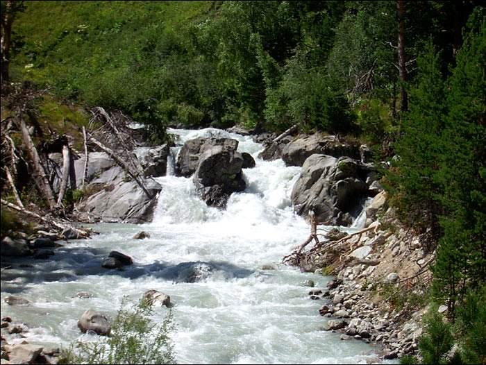 Сплав по реке Маруха