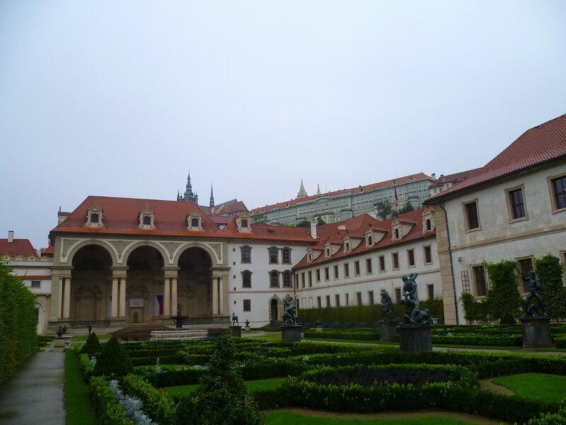 Чехия, Прага - Валленштейнский дворец (Czech Republic, Prague - Wallenstein Palace)
