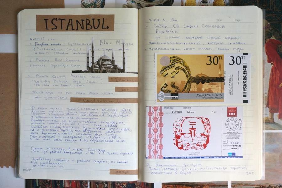 Дневник путешественника как сделать 614