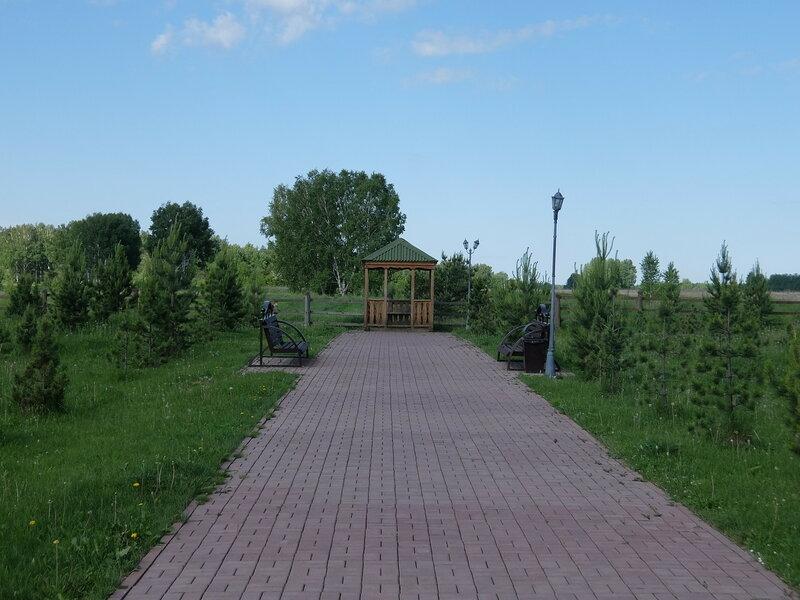 Мемориал жертвам Сиблага - Беседка