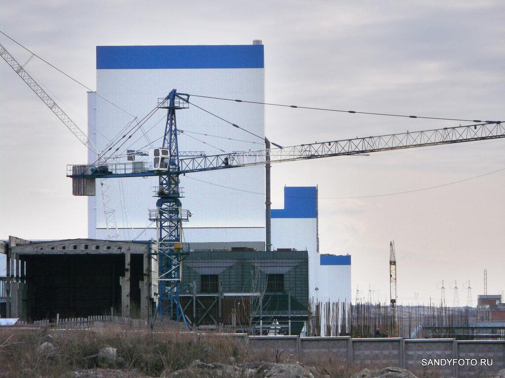 Строительство нового энергоблока на Троицкой ГРЭС (05-04-2014)