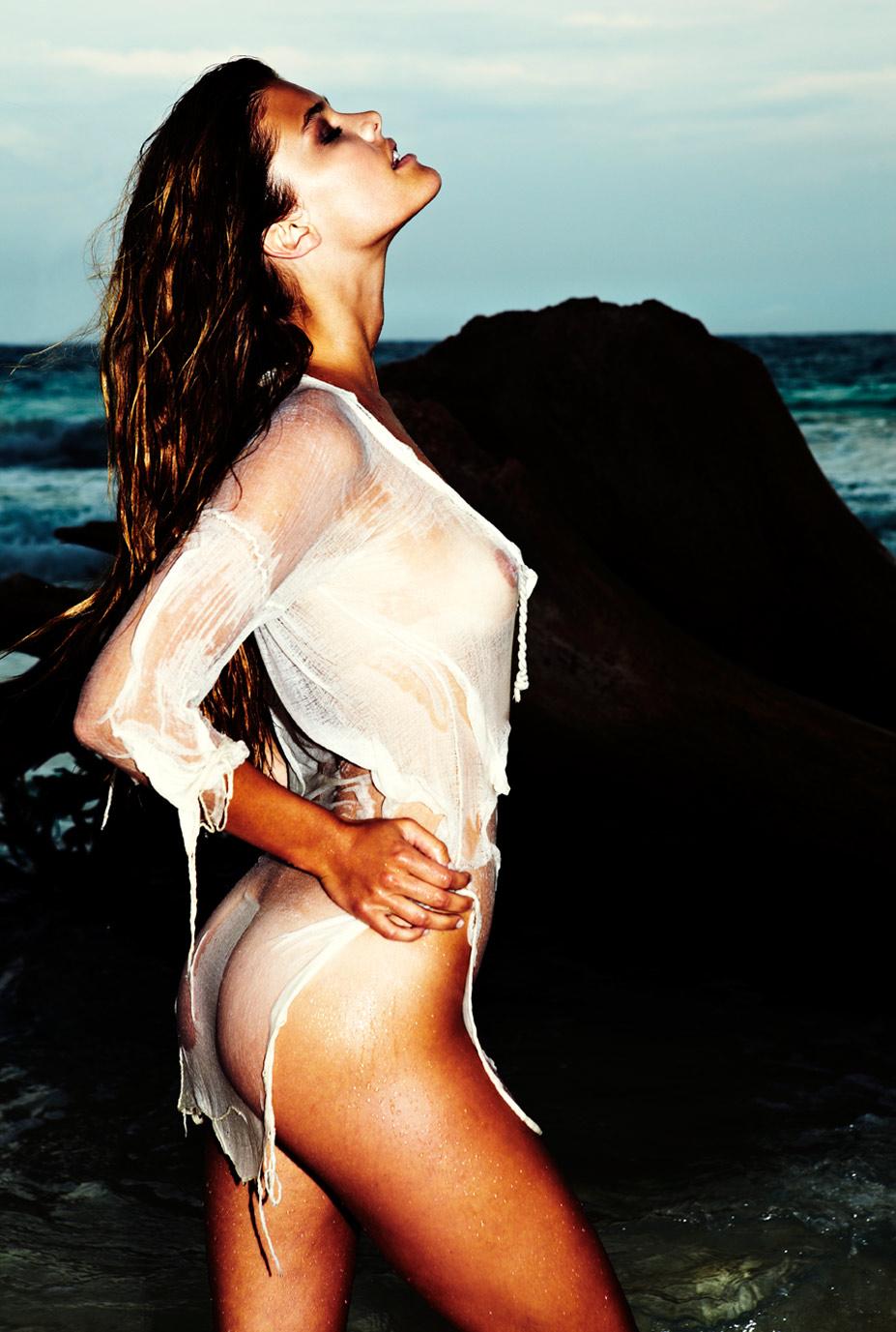 обнаженная Нина Агдал / Nina Agdal - Antoine Verglas in Gosee Magazine 26 june 2014
